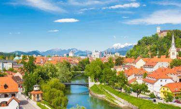 B&B-ji v regiji Osrednjeslovenska