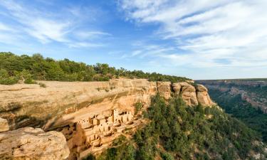 Hotels mit Parkplatz in der Region Mesa Verde National Park