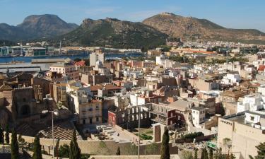 Hoteles de playa en Murcia