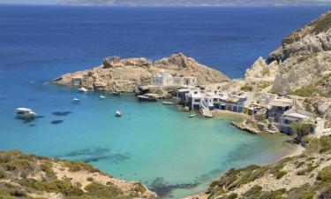 Hotels on Milos