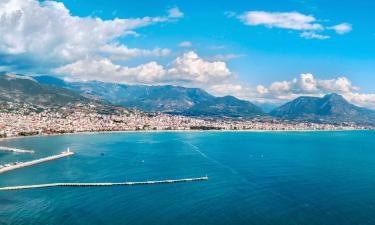 Country Houses in Mediterranean Region Turkey