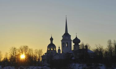 Отели в регионе Ленинградская область
