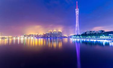 Hotels with Pools in Guangzhou Area