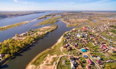 Hoteles en Volga River
