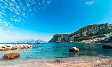 Hotels in Capri Island
