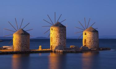 Apartments on Chios Island