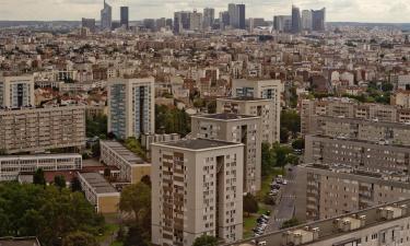 Hôtels dans cette région: Seine-Saint-Denis