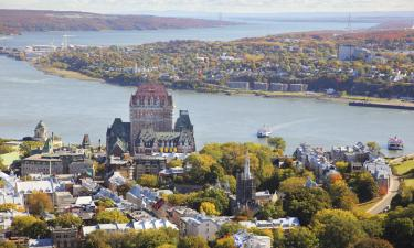 Hotels in Quebec city and area