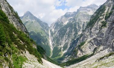 Hostli v regiji Julijske Alpe
