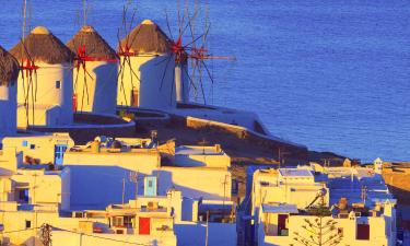 Villas on Mykonos