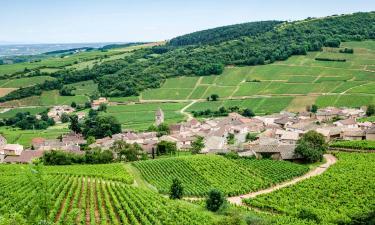 Отели в регионе Бургундия