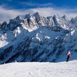 Regiunea de schi Dolominţi
