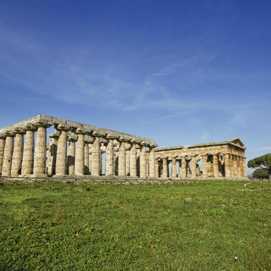 Paestum temples and buffalo mozzarella tours
