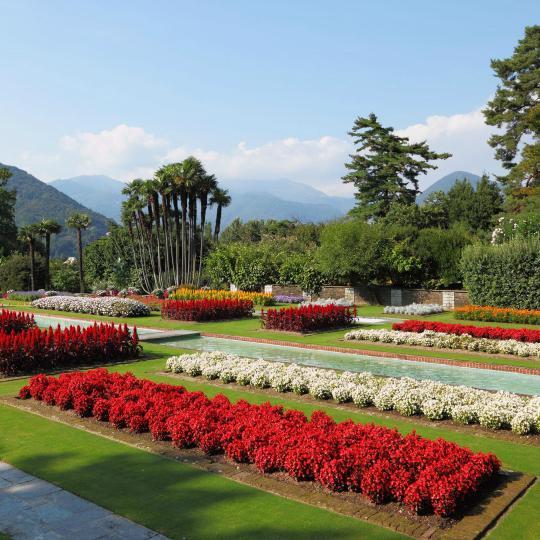 Villa Tarantos botaniska trädgård i Verbania