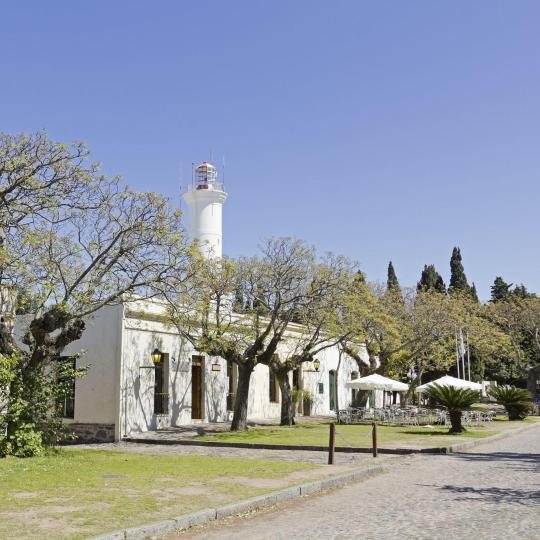 Colonia's historic centre
