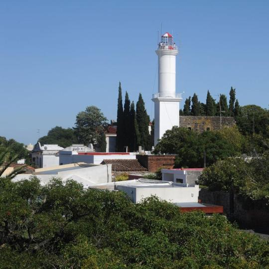 Colonia's lighthouse