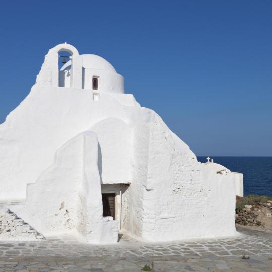 Kostel Panagia Paraportiani