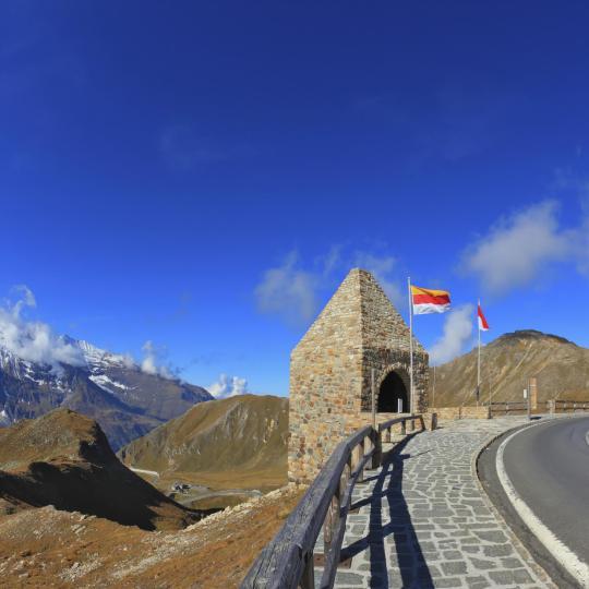 Großglockner alpesi panorámaút