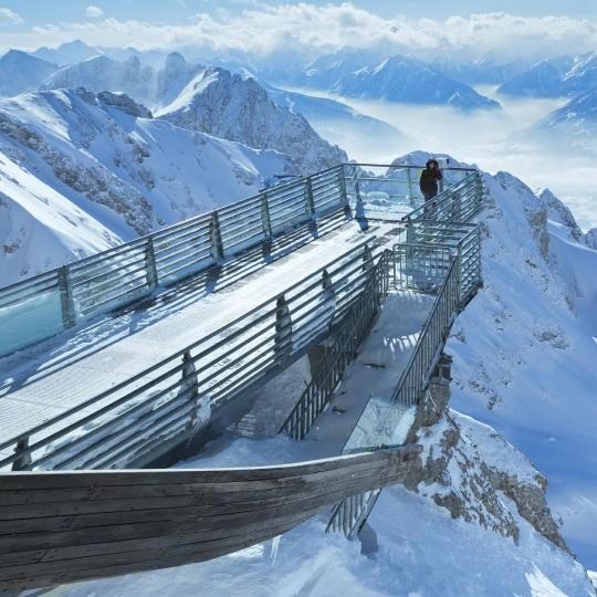 תצפית Dachstein Skywalk