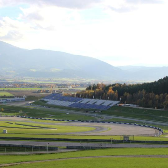 Free-wheeling in the Red Bull Ring