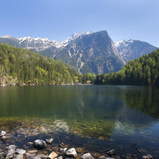 Klettern im Nationalpark Ötztal