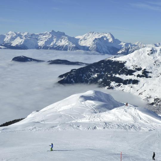 Skifahren in der Region 4 Vallées
