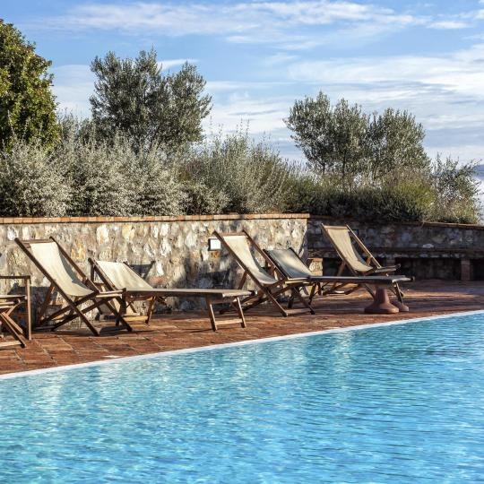 Relaxing moments in Umbria