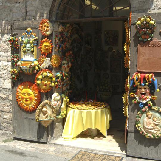 Umbrian arts and crafts