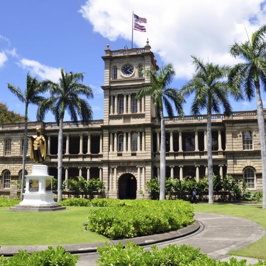 Altstadt von Honolulu