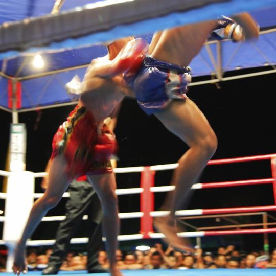 Арена для бокса в Чавенге