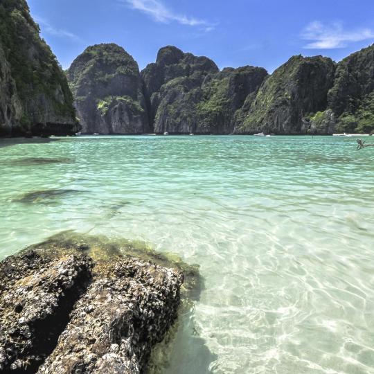 Пляж Майя-Бей