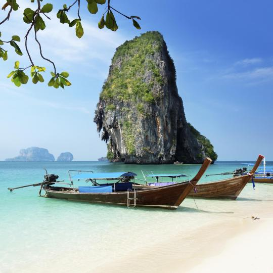 Boat trips from Railay Beach