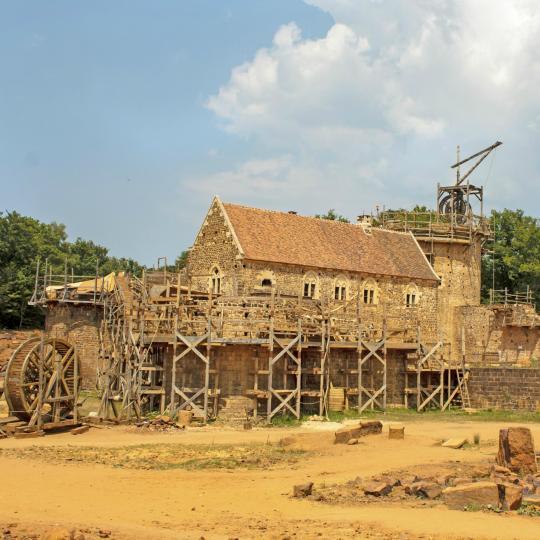 Site médiéval de Guédelon