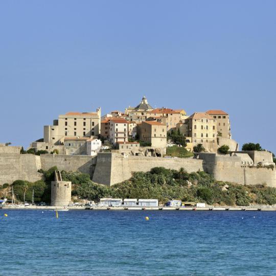 Calvi and its citadel