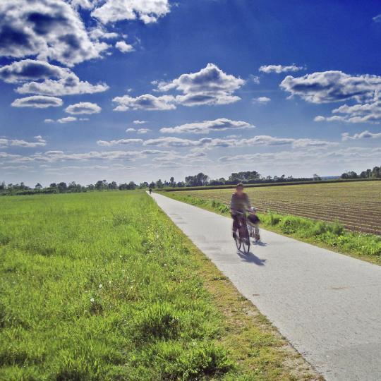 Promenade à vélo dans la vallée de la Loire