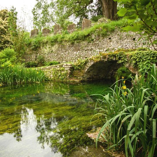The Gardens of Ninfa