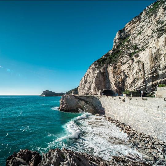 Free climbing in Finale Ligure