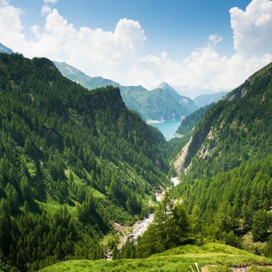 Hiking in Blenio Valley