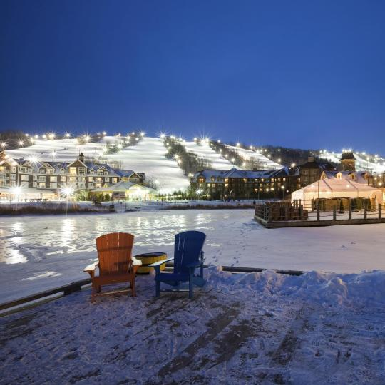 Ski and beach in Blue Mountain - Collingwood