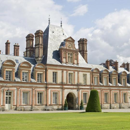 The Palace of Fontainebleau and its Forest