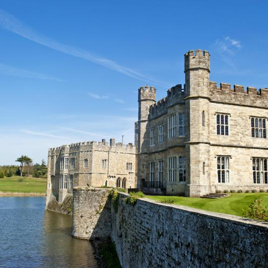 Captivating grounds and history at Leeds Castle