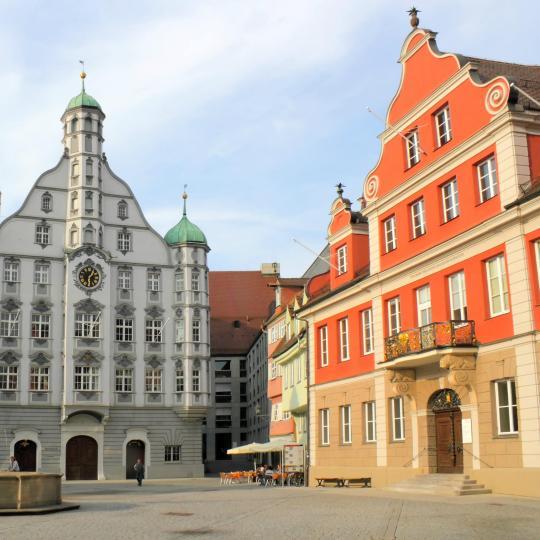 Stroll through Memmingen's Old Town