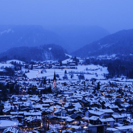 Hit the Allgäu's snowy slopes