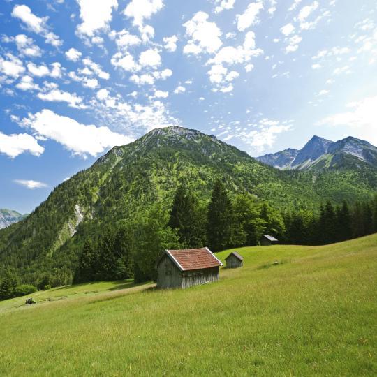 Take a scenic hike through the Lower Allgäu