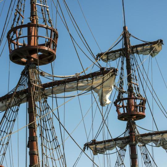 Sich auf den Störtebeker Festspielen als Pirat verkleiden