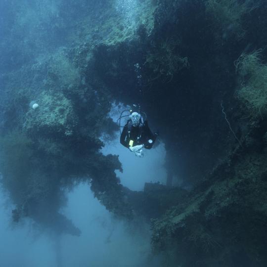 Esplorate il relitto di Evilscot nascosto in fondo al mare