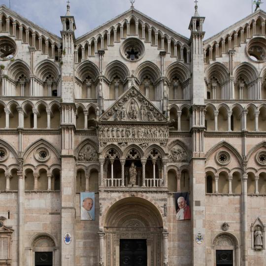 Explore Ferrara's UNESCO-protected city walls