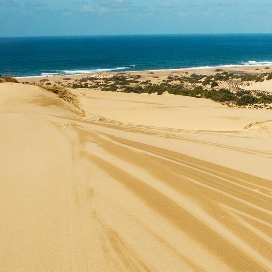 Dunes of Piscinas