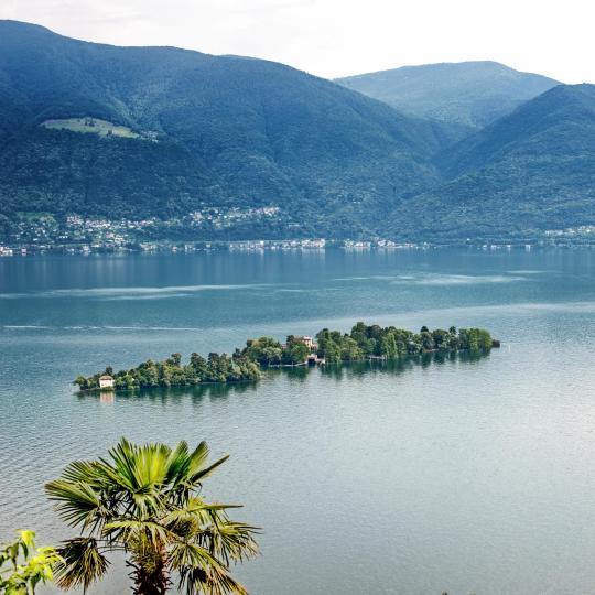 Brissago Islands on Lake Maggiore