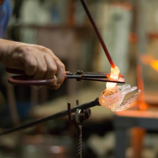 Moser Museum's history of glasswork